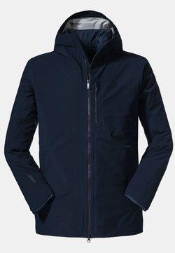 Schöffel - Regenjacke / wasserabweisende Jacke - blau