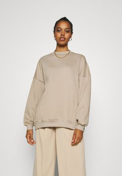 Nly by Nelly - PERFECT OVERSIZE - Sweatshirt - beige