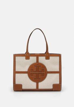 Tory Burch - ELLA QUADRANT TOTE - Tote bag - natural