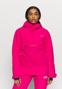Oakley - IRIS INSULATED ANORAK - Snowboard jacket - rubine red