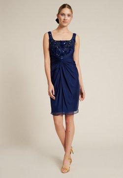 Luisa Spagnoli - PORDENONE - Cocktailkleid/festliches Kleid - blu violaceo/blu violaceo