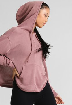 Free People - BACK INTO IT HOODIE - Jersey con capucha - rose