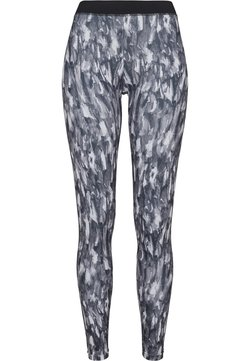 Urban Classics - LADIES ACTIVE GRAPHIC - Legging - grey