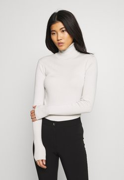 Weekday - KIRSTEN TURTLENECK - Strikkegenser - beige