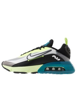 Nike Sportswear - AIR MAX 2090 - Sneaker low - white/black/volt/blue force/barely volt