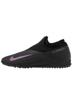 Nike Performance - PHANTOM VISION 2 ACADEMY DF TF - Astro turf trainers - black