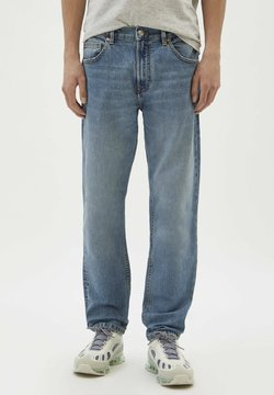 PULL&BEAR - Jeans Straight Leg - blue-grey