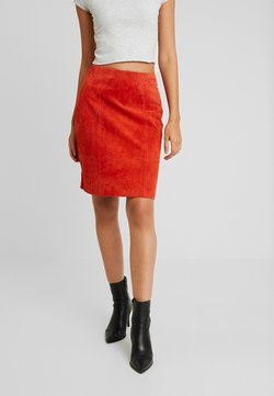 Vila - Mini skirt - ketchup