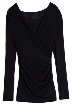 Intimissimi - TOP AUS MODAL UND KASCHMIR - Langærmede T-shirts - black