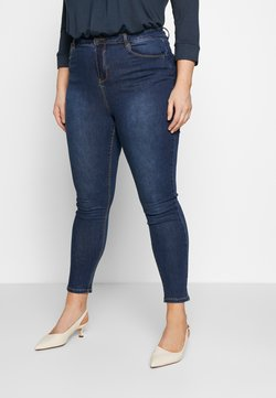 Simply Be - HIGH WAIST - Jeans Skinny Fit - rich indigo