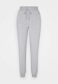 Vero Moda - VMKOKO PANT - Jogginghose - light grey melange