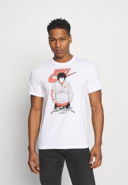 Nike Sportswear - AIR MANGA FUTURA MAN - T-Shirt print - white