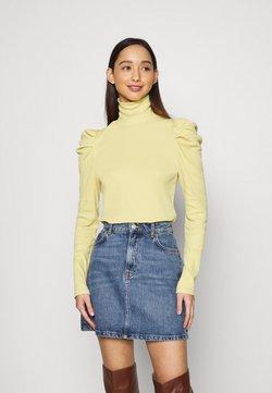 Monki - RONJA - Långärmad tröja - yellow dusty light
