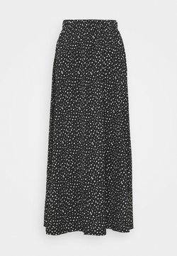 ONLY Tall - ONLZILLE MAXI SKIRT - Maksihame - black/white