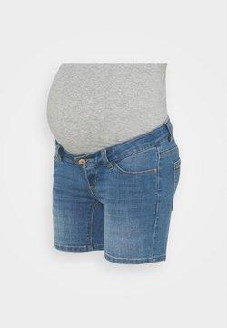 Pieces Maternity - PCMDELLA - Short en jean - light blue denim