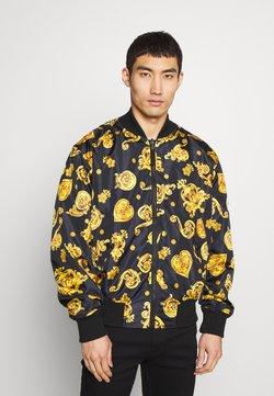 Versace Jeans Couture - ALLOVER GIOIELLI REVERSIBLE - Summer jacket - black