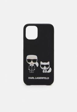 KARL LAGERFELD - CHOUPETTE CASE IPHONE 12 MINI - Phone case - black