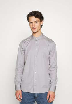 Calvin Klein - STAND COLLAR LIQUID TOUCH - Chemise - grey
