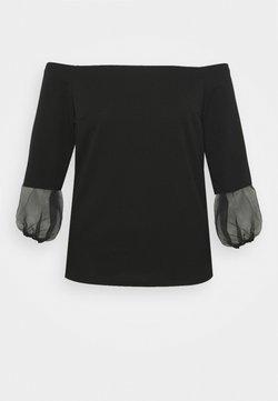 Simply Be - BARDOT  - Langarmshirt - black