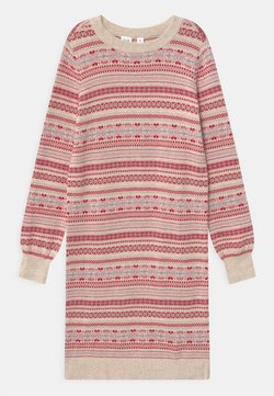 GAP - GIRL FAIR-ISLE - Strickkleid - multi-coloured