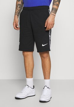Nike Sportswear - REPEAT  - Shorts - black/white