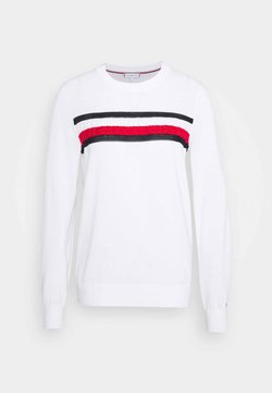 Tommy Hilfiger - GLOBAL  - Neule - white