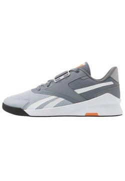 Reebok - LIFTER PR II - Sports shoes - cold grey