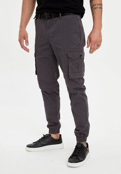 DeFacto - Cargo trousers - anthracite