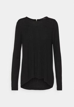 Vero Moda - VMVICA ZIPPER BACK - Pullover - black