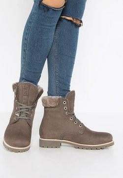 Panama Jack - IGLOO - Bottines à lacets - gris