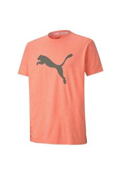 Puma - HEATHER CAT  - Printtipaita - nrgy peach heather