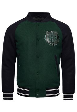 Superdry - Giubbotto Bomber - dark pine/navy