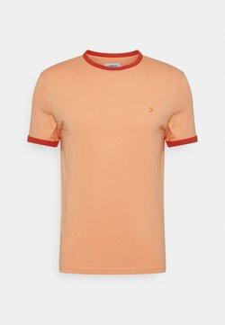 Farah - GROVES RINGER TEE - T-shirt basic - peach solstice