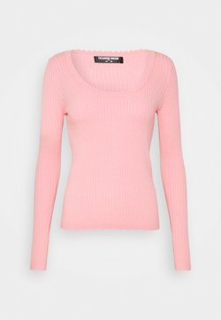 Fashion Union Tall - DAVIE - Trui - pink rose