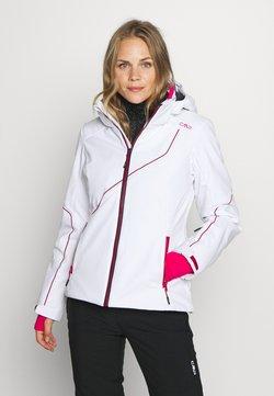 CMP - WOMAN JACKET ZIP HOOD - Kurtka narciarska - bianco