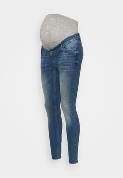 MAMALICIOUS - MLHAMPSHIRE - Jeans Skinny Fit - medium blue denim