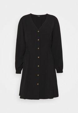 Pieces Curve - PCLAYSON DRESS  - Freizeitkleid - black