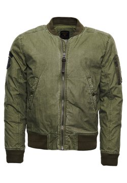 Superdry - Giubbotto Bomber - army green