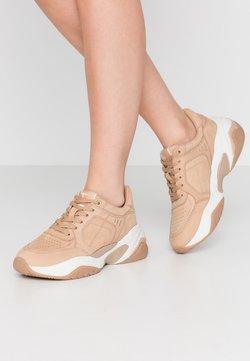 Tamaris Fashletics - LACE-UP - Sneakers laag - tan