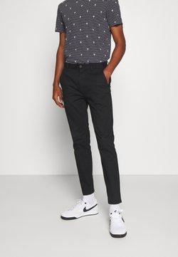 Burton Menswear London - STRETCH - Chino - black