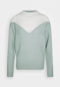 Fashion Union Tall - SNOW - Trui - green/cream