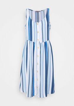 Anna Field - Freizeitkleid - blue/white