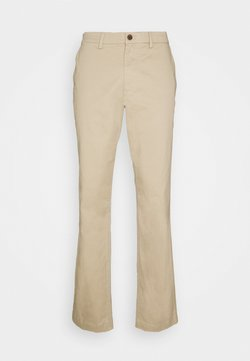 GAP - ESSENTIAL SLIM FIT - Chinot - iconic khaki