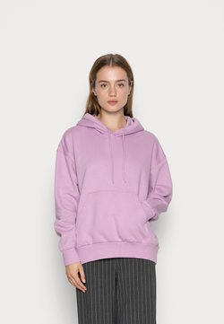 Weekday - ALISA HOODIE - Bluza z kapturem - purple