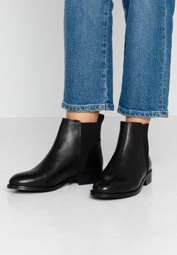 Anna Field - LEATHER BOOTIES - Støvletter - black
