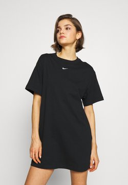 Nike Sportswear - DRESS - Vestido ligero - black/white