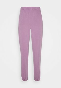 Cotton On - HIGHWAISTED TRACKPANT - Jogginghose - chalky lilac garment pigment dye