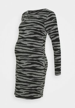 Supermom - DRESS ZEBRA - Jerseyklänning - black