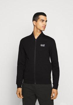 EA7 Emporio Armani - veste en sweat zippée - black