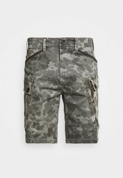 G-Star - ROXIC CARGO - Shorts - bracket stretch twill ao - charcoal gd  camo